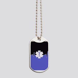Blue Emergency Medical Dog Tags