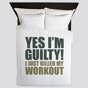 Yes I'm Guilty! Queen Duvet