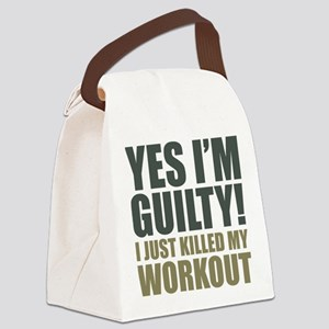 Yes I'm Guilty! Canvas Lunch Bag