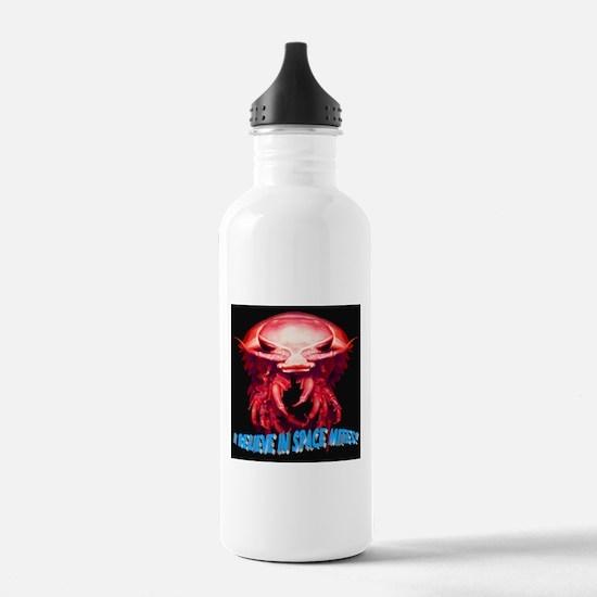 I Believe in Space Mit Water Bottle