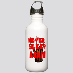 NEVER SLEEP AGAIN Water Bottle