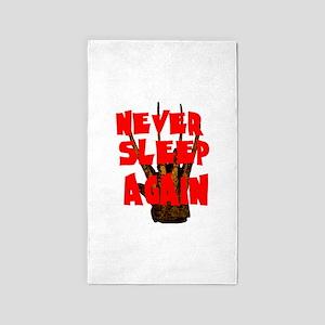 NEVER SLEEP AGAIN Area Rug
