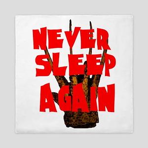 NEVER SLEEP AGAIN Queen Duvet