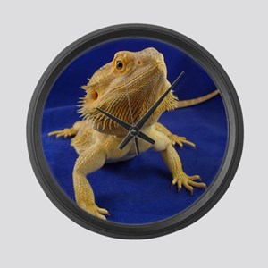 Bearded Dragon Large Wall Clock