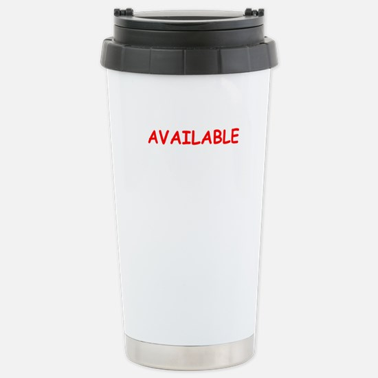 available Travel Mug
