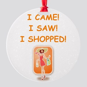 shopping Ornament