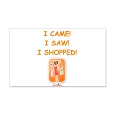 shopping Wall Decal