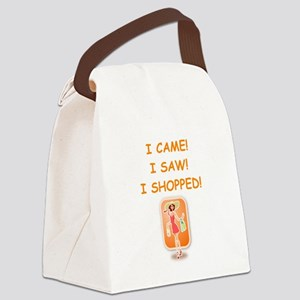 shopping Canvas Lunch Bag