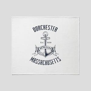 Dorchester, Boston MA Throw Blanket