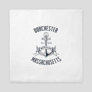 Dorchester, Boston MA Queen Duvet