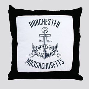 Dorchester, Boston MA Throw Pillow