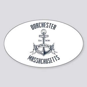 Dorchester, Boston MA Sticker (Oval)