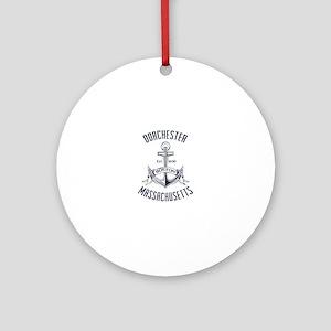 Dorchester, Boston MA Ornament (Round)