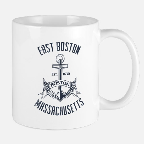 East Boston, MA Mug