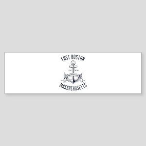 East Boston, MA Sticker (Bumper)