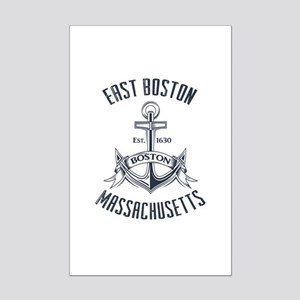 East Boston, MA Mini Poster Print