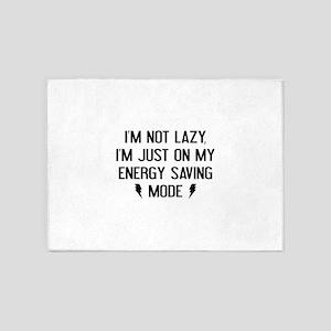 I'm Not Lazy 5'x7'Area Rug