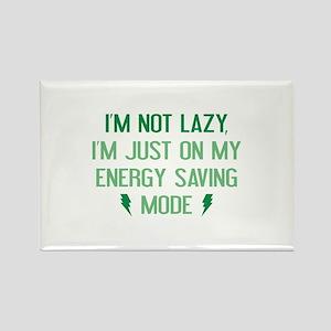 I'm Not Lazy Rectangle Magnet