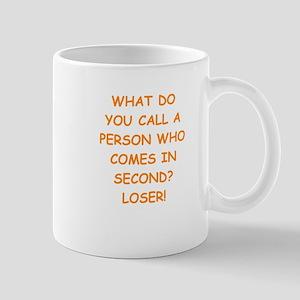 second place Mugs