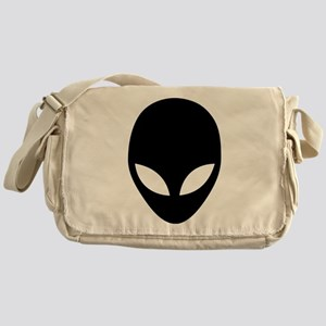 They're here Alien Head Messenger Bag