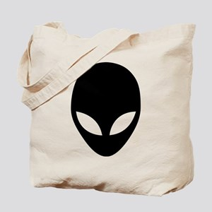 They're here Alien Head Tote Bag