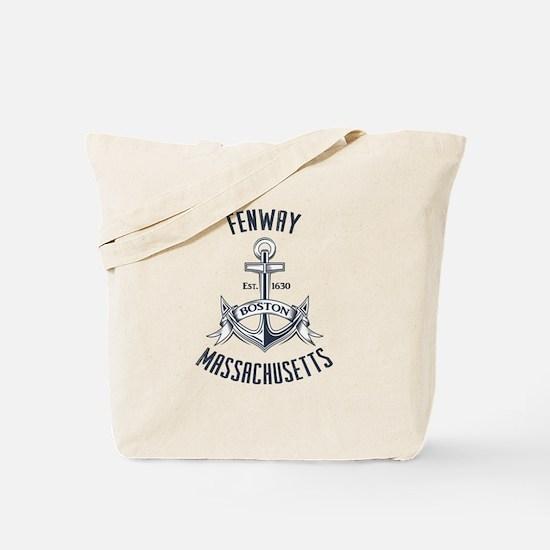 Fenway, Boston MA Tote Bag