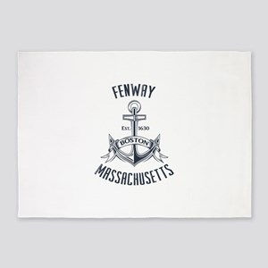 Fenway, Boston MA 5'x7'Area Rug