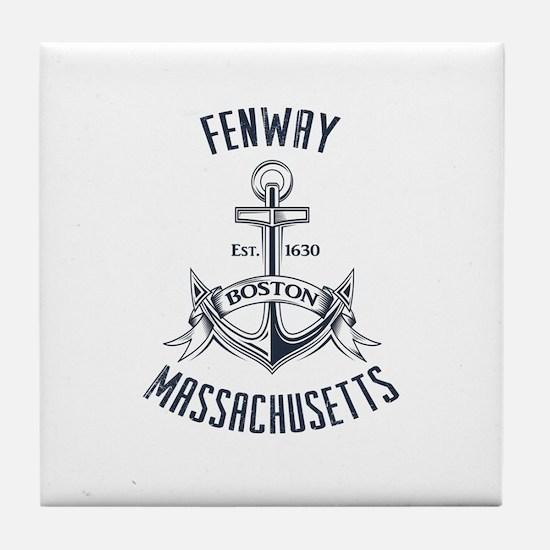 Fenway, Boston MA Tile Coaster
