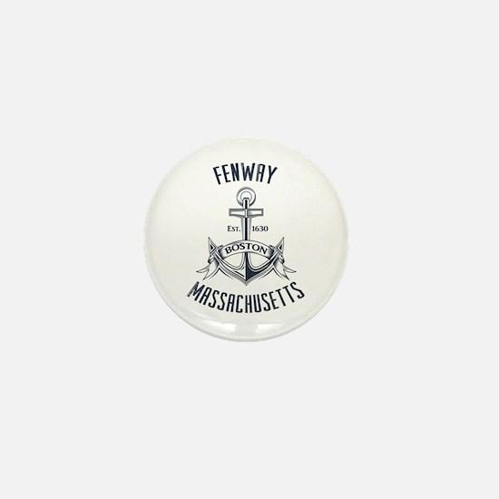 Fenway, Boston MA Mini Button