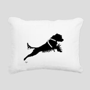 Working PWD Rectangular Canvas Pillow