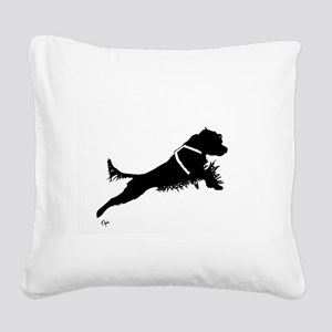 Working PWD Square Canvas Pillow