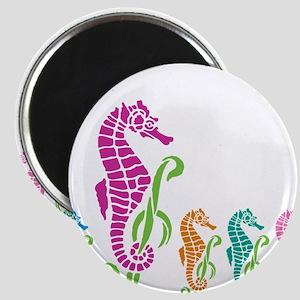 Seahorse Parade Magnets