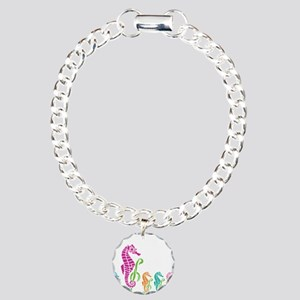 Seahorse Parade Charm Bracelet, One Charm