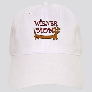 Cute Wiener Mom Cartoon Cap