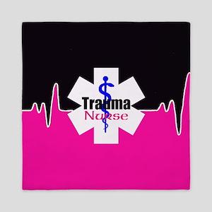 Trauma Nurse Queen Duvet