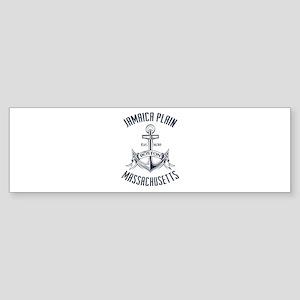 Jamaica Plain, Boston MA Sticker (Bumper)
