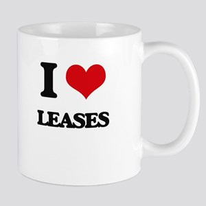 I Love Leases Mugs