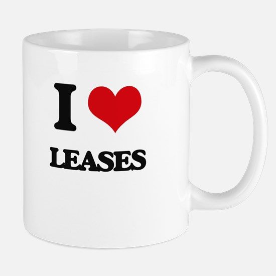 I Love Leases Mugs