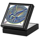 Silver Mockingjay Keepsake Box