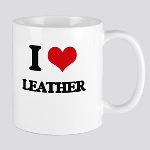 I Love Leather Mugs