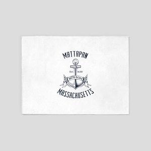 Mattapan, Boston MA 5'x7'Area Rug