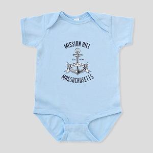 Mission Hill Boston Ma Infant Bodysuit