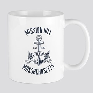 Mission Hill, Boston MA Mug