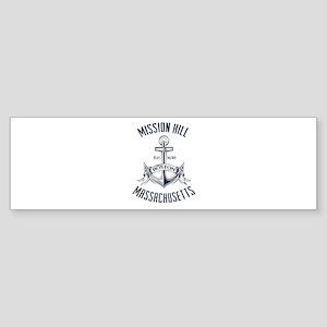 Mission Hill, Boston MA Sticker (Bumper)