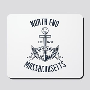 North End, Boston MA Mousepad