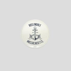 Roslindale, Boston MA Mini Button