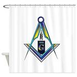 Masons who vape Shower Curtain