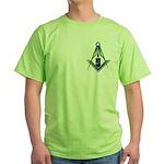 Masons who vape Green T-Shirt