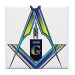 Masons who vape Tile Coaster