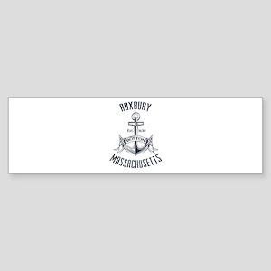 Roxbury, Boston MA Sticker (Bumper)